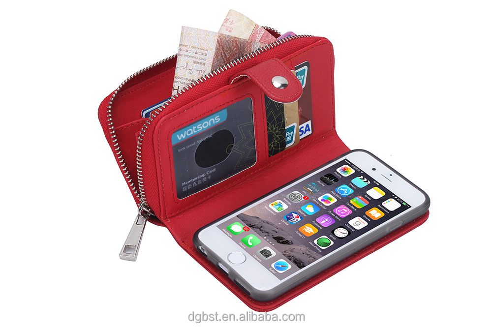 Mobile Accessories Phone Case For 4.7inch With Card Slots leather Flip Phone Cover