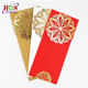 Customized Luxury Laser Cut Christian Chinese Traditional Classic Red Beach 25th Wedding Anniversary Paper Invitation Card