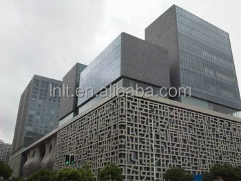 Outdoor decoration CNC carving aluminum perforated panels