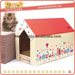 Sisal rope pet tree ,CC032 dog house dog cage pet house ottoman foldable storage house , houses cats
