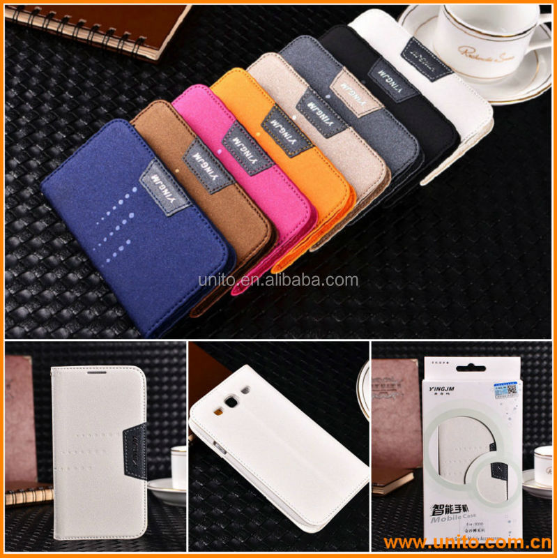 Flip Leather PU Slim Hard Luxury Case Cover for Samsung Galaxy S3/III i9300