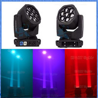 2015 New style paint zoom 7x15w RGBW 4in1 wash moving head stage light
