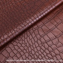 New design lizard pattern pvc leather for bags and sofa