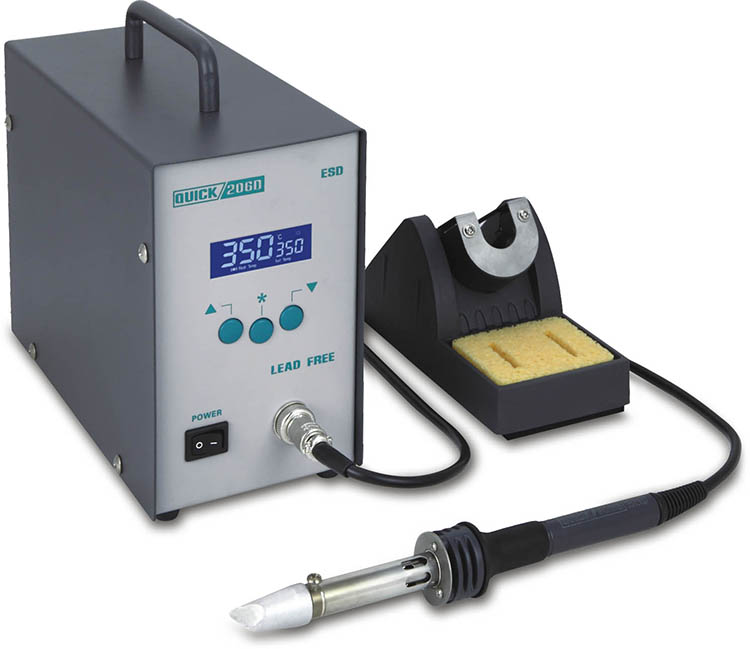 QUICK 206D large power portable soldering station