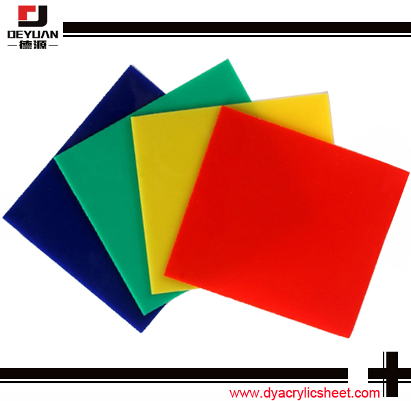 Cast acrylic sheet plexiglass virgin material 1.0mm 50mm thickness