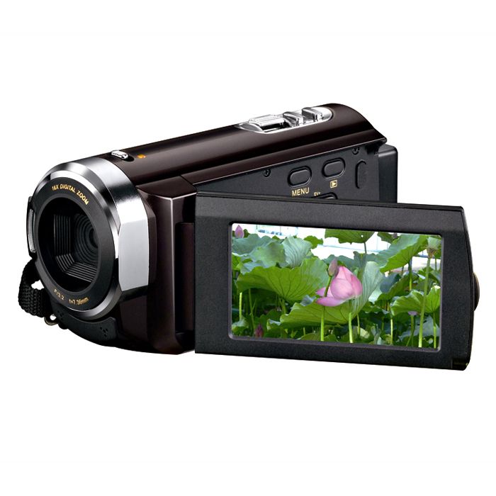 2017 popular 12mp hd 720p digital video camcorder camera with 3.0 inch TFT SD/MMC Card slot up to 32GB