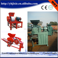 high efficiency charcoal briquettes press machine/coal ball press machine