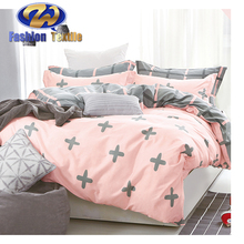Factory price lace bedding sets 100%cotton 100% cotton printed kids