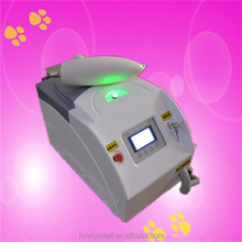 Favorable price Q-switched ND: YAG laser/ laser tattoo removal machine price for eyebrow removal