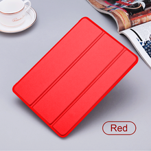 Tri Folding PU Leather Ultra Slim Magnetic Leather Smart Cover Case For Apple iPad Pro Air iPad 4 Mini