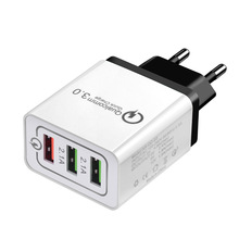 Electronic Charger <strong>Mobile</strong> <strong>Phone</strong> Accessories <strong>Mobile</strong> <strong>Phone</strong> 3 USB 3 Ports Quick Charger QC3.0 for Cell <strong>Mobile</strong> <strong>Phone</strong>