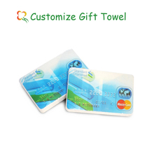 high quality square compressed washcloth