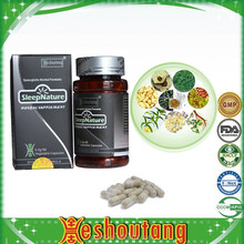 Chinese herbal supplement for calm the nerves and inprove anemia