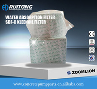 water absorption filter SDF-C Kleenoil filter Zoomlion concrete pump Zoomlion parts
