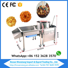 Commercial kettle popcorn machine/mini popcorn coating machine