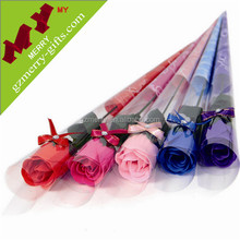 Newly gifts beautiful wedding artificial rose for home decoration