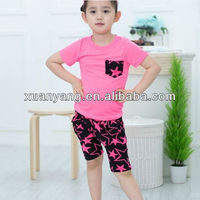 Summer Children Singlet Vetement,baby garments/children short suit/kids new design clothing