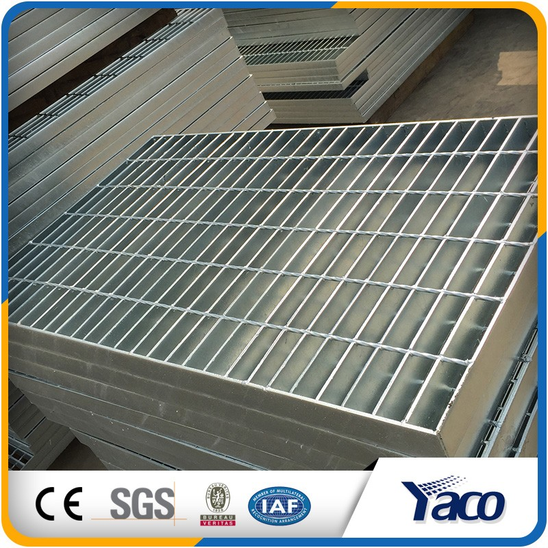 Favourable price pvc coated steel grating for sale