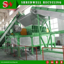 Used Tire Shredder For Waste Tyre Shredding With The Best Price