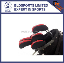 wholesale price and customer logo print neoprene golf club head cover