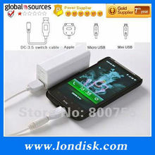 Mini Power Bank Wholesale / essential travel backup battery / high volume power trip