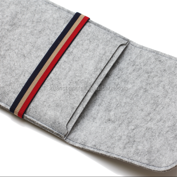 Felt Sleeve Handle Laptop Sleeve Pouch Cover Bag for iPad 2 3 4 iPad