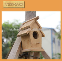 Lovely Forest Outdoor Chinese Bird House, Wooden bird cage