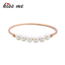 Simple Vintage Gold Pearl Bangles Design With Price For Girls Bangle Jewelry