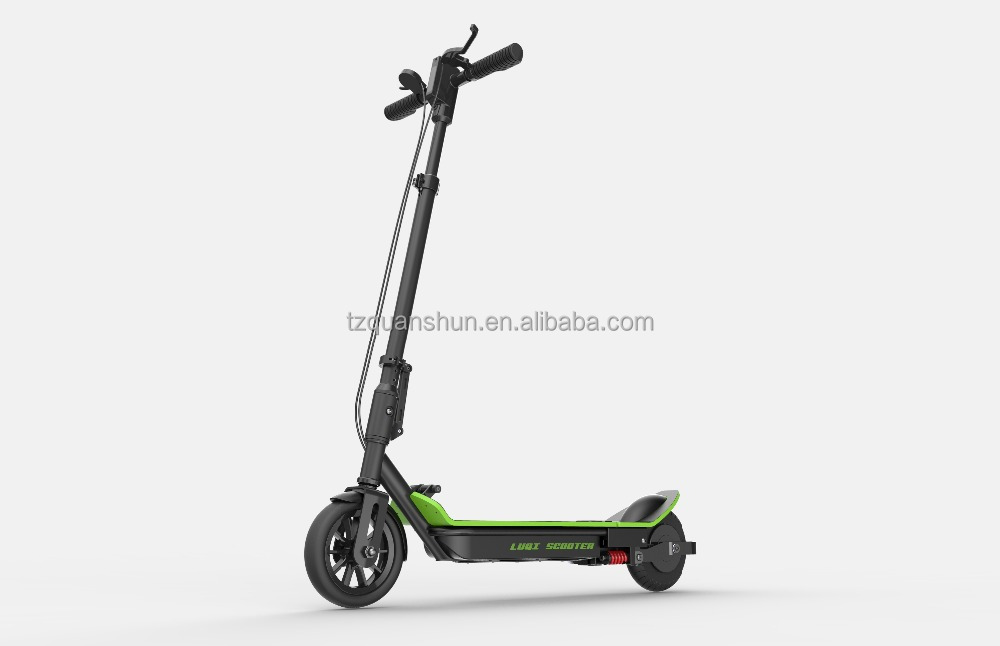 350w 36v 30KPH 8inch brushless motor folding 2 wheel stand up electric kick foot scooter for adult