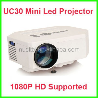 Cheap price Home theater mini LED Projector UC30