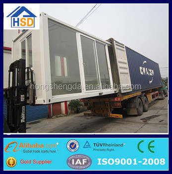 alibaba manufacture prefab mobile house prebuilt container home