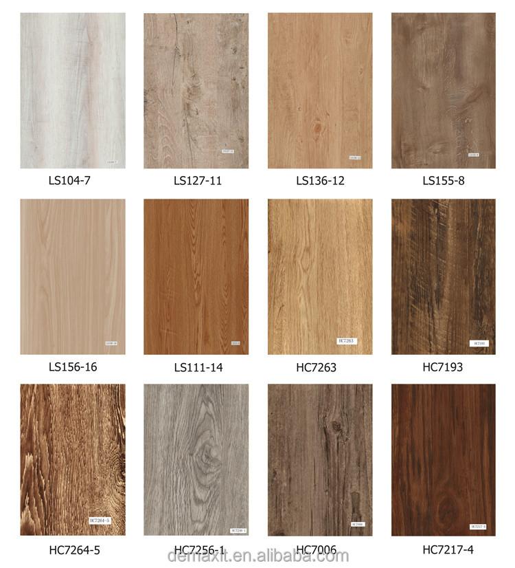 Shiny Marley Floor High Gloss Vinyl Plank Flooring Marley