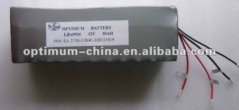 ups battery lithium iron battery 12v 30ah