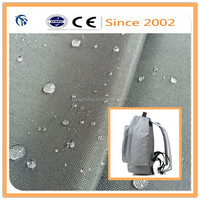 waterproof 600D oxford fabric cloth for bag with PVC backing