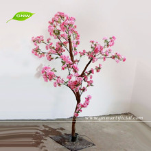 GNW BLS1606002 ft pink artificial bonsai tree cherry flower for wedding reception decoration