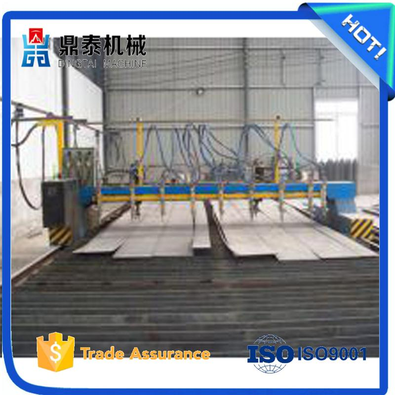 Straight line H beam steel cutting machine, steel flame cutting machine