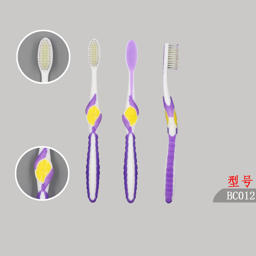 stylish new arrivial rubber bristle toothbrush