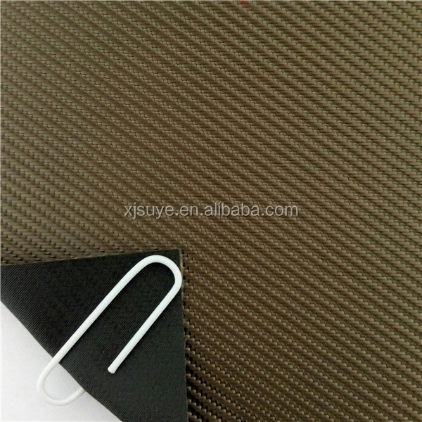 tear resistant 100% polyester twill shoe oxford fabric