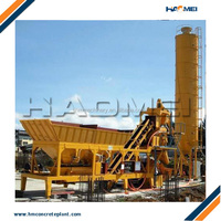 Turnkey service skip type simple concrete batching plant supplier