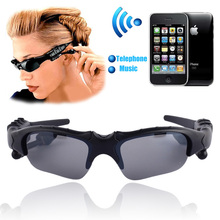 Sports Stereo Wireless Wireless BT 4.0 Headset Telephone Polarized Driving Sunglasses/mp3 Riding Eyes Glasses