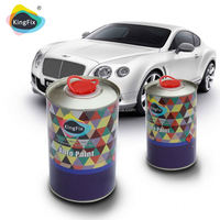 KINGFIX Brand auto paint binder for 2k solid colors topcoats