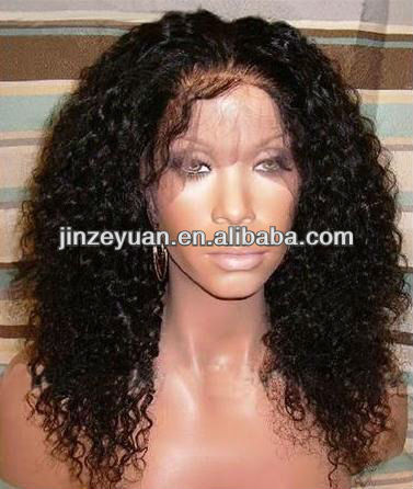 No shedding AAAAA grade g Malaysian hair full lace wig with bleached knots