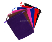 Mix Color Soft Velvet Pouches /Drawstring pouches for Jewelry Gift Packaging