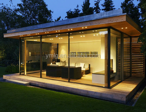 Luxury Design Hot Sale Large Glass Slim Framed Garden Sliding Doors