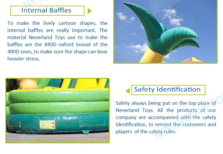 High quality with cheap price giant inflatable water slide for adult