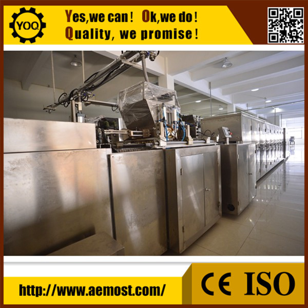 FI10726 Chocolate making machine/automatic chocolate production line/chocolate depositor