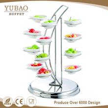 Factory Price Fancy Food Display Shelf, Sweets And Candy Display Stand