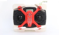 China cheap X6 Red mini drone helicopter quadcopter