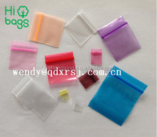 China factory printed security apple mini zip lock bags