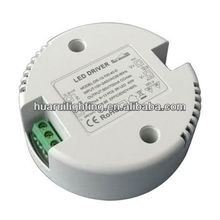 high quality for 350ma 700ma constant current round shape led driver D100*30mm